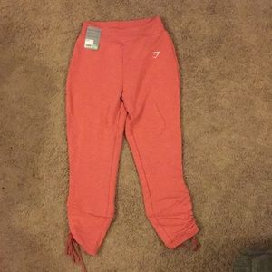 NWT GymShark Ruched Sweats